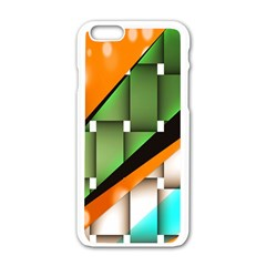 Abstract Wallpapers Apple Iphone 6/6s White Enamel Case by Simbadda