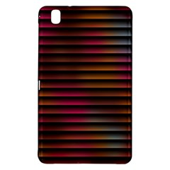 Colorful Venetian Blinds Effect Samsung Galaxy Tab Pro 8 4 Hardshell Case by Simbadda