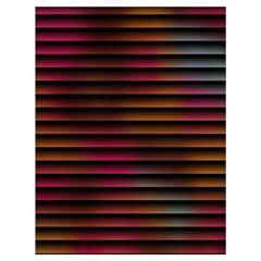 Colorful Venetian Blinds Effect Drawstring Bag (large) by Simbadda