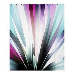 Flower Petals Abstract Background Wallpaper Shower Curtain 60  X 72  (medium)  by Simbadda