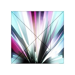 Flower Petals Abstract Background Wallpaper Acrylic Tangram Puzzle (4  X 4 ) by Simbadda