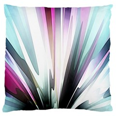 Flower Petals Abstract Background Wallpaper Large Cushion Case (two Sides) by Simbadda