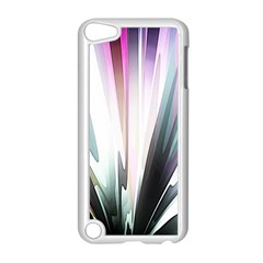 Flower Petals Abstract Background Wallpaper Apple Ipod Touch 5 Case (white) by Simbadda