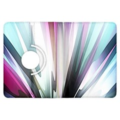 Flower Petals Abstract Background Wallpaper Kindle Fire Hdx Flip 360 Case by Simbadda