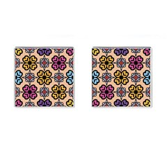 Abstract Seamless Background Pattern Cufflinks (square) by Simbadda