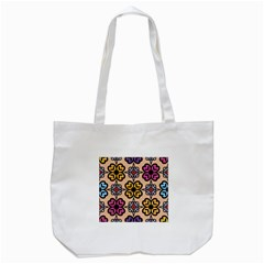 Abstract Seamless Background Pattern Tote Bag (white) by Simbadda