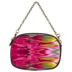 Abstract Pink Colorful Water Background Chain Purses (one Side)  by Simbadda