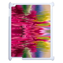 Abstract Pink Colorful Water Background Apple Ipad 2 Case (white) by Simbadda