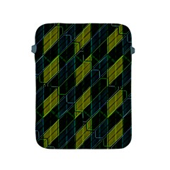 Futuristic Dark Pattern Apple Ipad 2/3/4 Protective Soft Cases by dflcprints