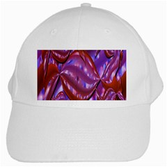 Passion Candy Sensual Abstract White Cap by Simbadda