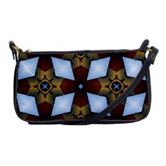 Abstract Seamless Background Pattern Shoulder Clutch Bags by Simbadda