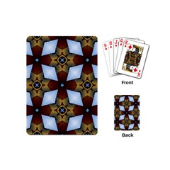 Abstract Seamless Background Pattern Playing Cards (mini)  by Simbadda