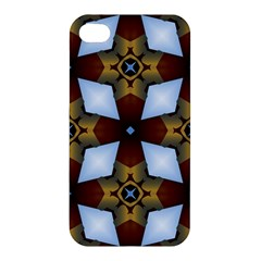 Abstract Seamless Background Pattern Apple Iphone 4/4s Hardshell Case by Simbadda