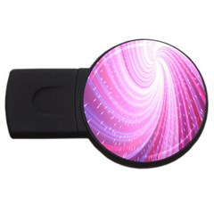 Vortexglow Abstract Background Wallpaper Usb Flash Drive Round (2 Gb) by Simbadda