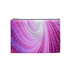 Vortexglow Abstract Background Wallpaper Cosmetic Bag (medium)  by Simbadda
