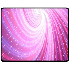 Vortexglow Abstract Background Wallpaper Double Sided Fleece Blanket (medium)  by Simbadda