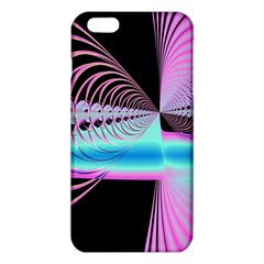 Blue And Pink Swirls And Circles Fractal Iphone 6 Plus/6s Plus Tpu Case by Simbadda