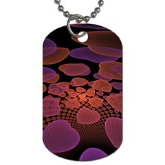 Heart Invasion Background Image With Many Hearts Dog Tag (two Sides) by Simbadda