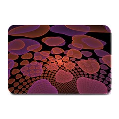 Heart Invasion Background Image With Many Hearts Plate Mats by Simbadda