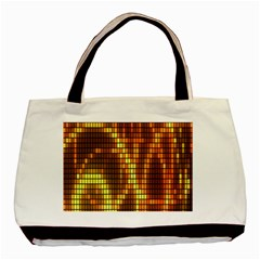 Circle Tiles A Digitally Created Abstract Background Basic Tote Bag