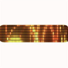 Circle Tiles A Digitally Created Abstract Background Large Bar Mats by Simbadda