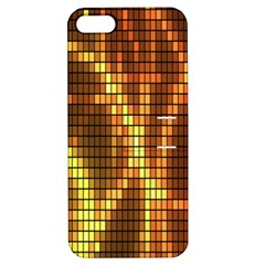 Circle Tiles A Digitally Created Abstract Background Apple Iphone 5 Hardshell Case With Stand by Simbadda