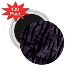 Skin3 Black Marble & Black Watercolor (r) 2 25  Magnet (100 Pack)  by trendistuff