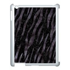 Skin3 Black Marble & Black Watercolor Apple Ipad 3/4 Case (white) by trendistuff