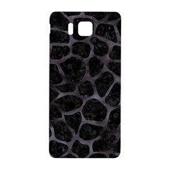Skin1 Black Marble & Black Watercolor (r) Samsung Galaxy Alpha Hardshell Back Case by trendistuff
