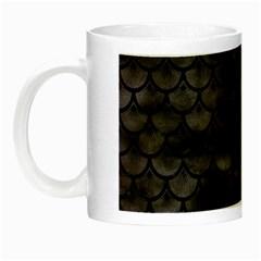 Sca3 Bk Mrbl Bk Wclr (r) Night Luminous Mugs by trendistuff