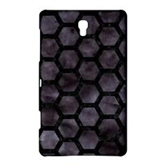 Hexagon2 Black Marble & Black Watercolor (r) Samsung Galaxy Tab S (8 4 ) Hardshell Case  by trendistuff