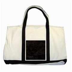 Hexagon1 Black Marble & Black Watercolor Two Tone Tote Bag by trendistuff