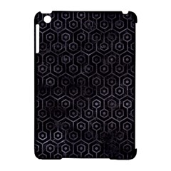 Hexagon1 Black Marble & Black Watercolor Apple Ipad Mini Hardshell Case (compatible With Smart Cover) by trendistuff