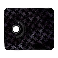 Houndstooth2 Black Marble & Black Watercolor Samsung Galaxy S  Iii Flip 360 Case by trendistuff