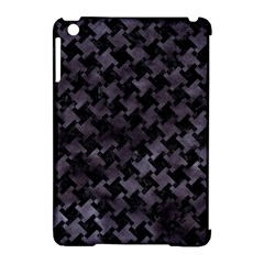Houndstooth2 Black Marble & Black Watercolor Apple Ipad Mini Hardshell Case (compatible With Smart Cover) by trendistuff