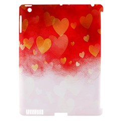 Abstract Love Heart Design Apple Ipad 3/4 Hardshell Case (compatible With Smart Cover) by Simbadda