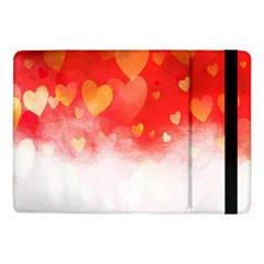 Abstract Love Heart Design Samsung Galaxy Tab Pro 10 1  Flip Case by Simbadda