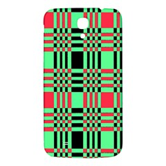 Bright Christmas Abstract Background Christmas Colors Of Red Green And Black Make Up This Abstract Samsung Galaxy Mega I9200 Hardshell Back Case by Simbadda