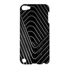 Chrome Abstract Pile Of Chrome Chairs Detail Apple Ipod Touch 5 Hardshell Case by Simbadda