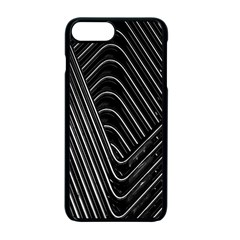 Chrome Abstract Pile Of Chrome Chairs Detail Apple Iphone 7 Plus Seamless Case (black) by Simbadda