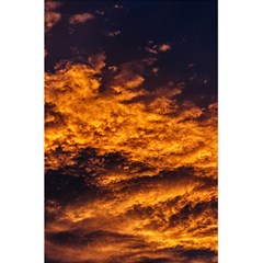 Abstract Orange Black Sunset Clouds 5 5  X 8 5  Notebooks by Simbadda