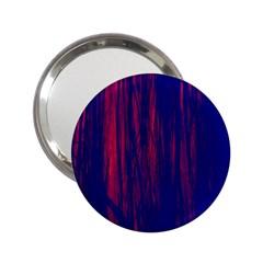 Abstract Color Red Blue 2 25  Handbag Mirrors by Simbadda