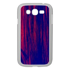 Abstract Color Red Blue Samsung Galaxy Grand Duos I9082 Case (white) by Simbadda