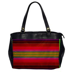 Fiesta Stripe Bright Colorful Neon Stripes Cinco De Mayo Background Office Handbags by Simbadda
