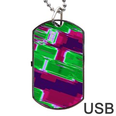 Background Wallpaper Texture Dog Tag Usb Flash (one Side) by Simbadda
