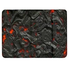 Volcanic Lava Background Effect Samsung Galaxy Tab 7  P1000 Flip Case by Simbadda