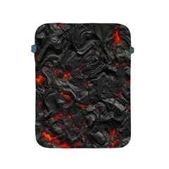Volcanic Lava Background Effect Apple Ipad 2/3/4 Protective Soft Cases by Simbadda