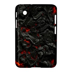 Volcanic Lava Background Effect Samsung Galaxy Tab 2 (7 ) P3100 Hardshell Case  by Simbadda