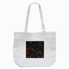 Volcanic Lava Background Effect Tote Bag (white) by Simbadda
