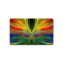 Future Abstract Desktop Wallpaper Magnet (name Card) by Simbadda